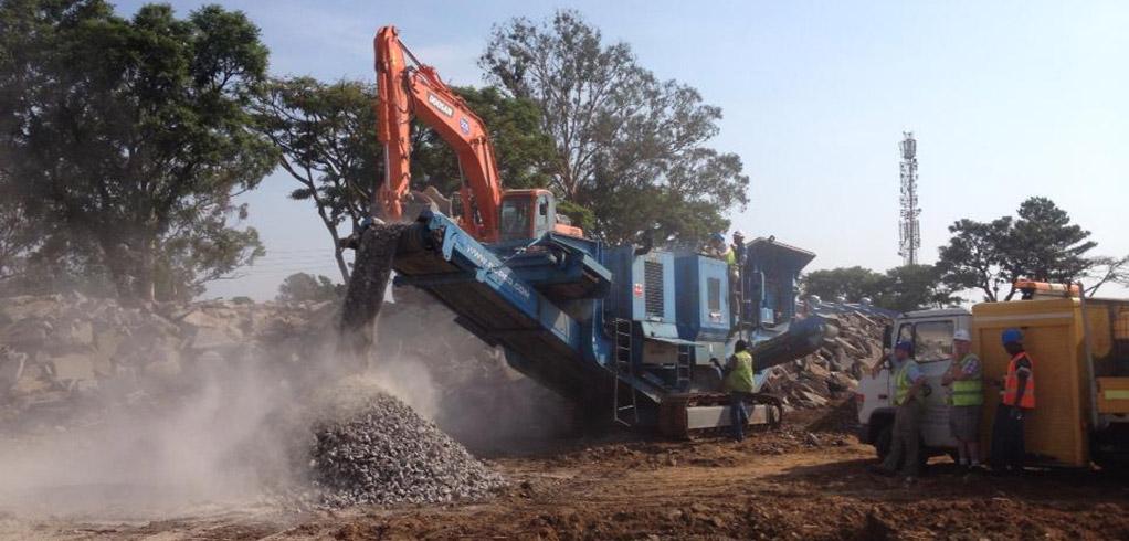 Crushing Agregate Stone