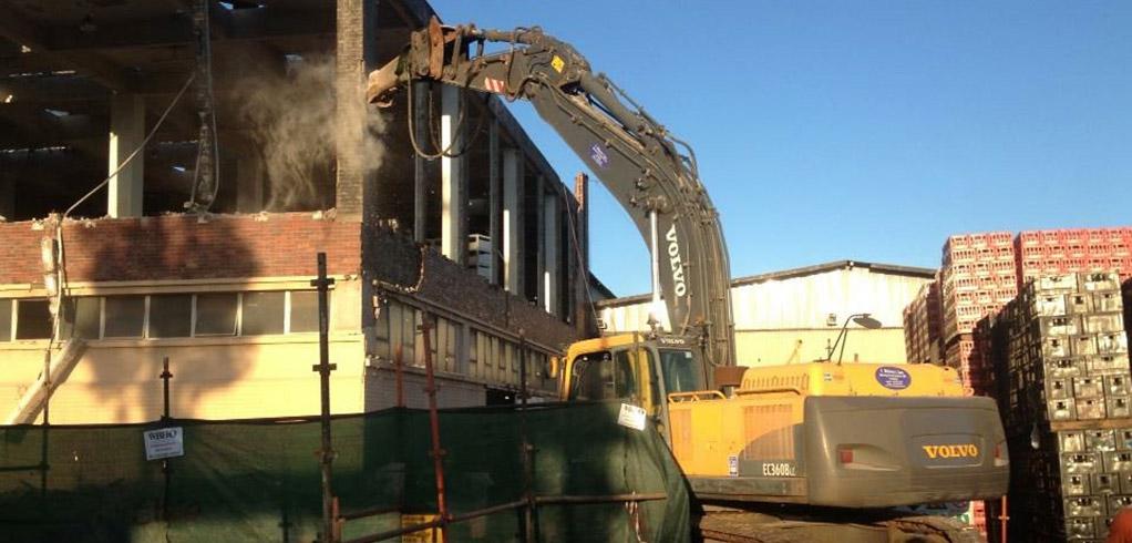 Demolition of Zambian Breweries